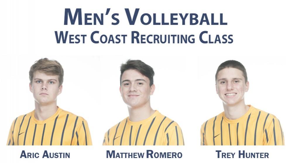 Men's Volleyball Announces West Coast Recruiting Class - News