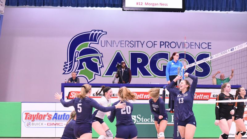 U of Providence Argos Win Frontier Conference Championship - Victory Sports Network